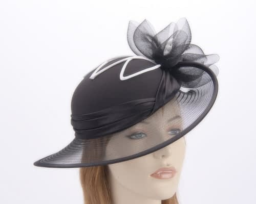 Black & White Mother of the Bride hat Fascinators.com.au