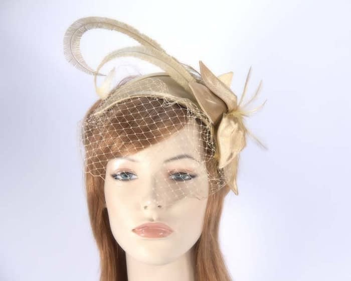 Gold fascinators K4799VG Fascinators.com.au