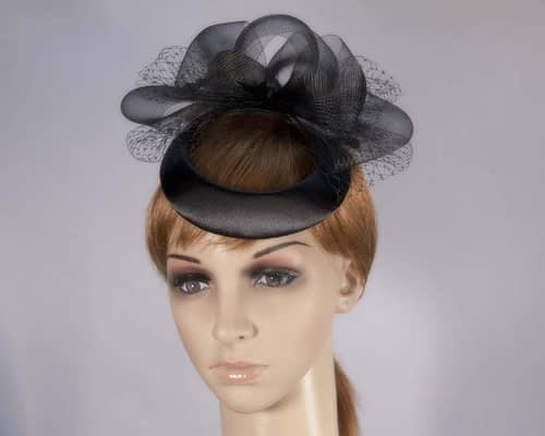 Black cocktail hat K1260B Fascinators.com.au