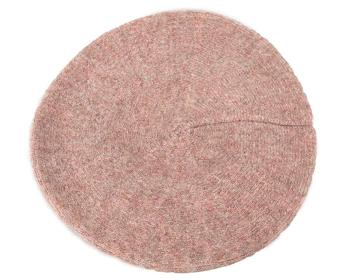 Warm beige wool beret. Made in Europe Fascinators.com.au