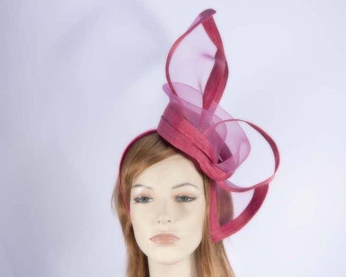 Fuchsia fascinators S107F Fascinators.com.au