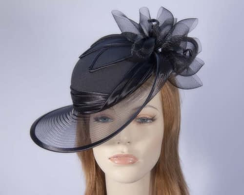 Black Mother of the Bride hat Fascinators.com.au
