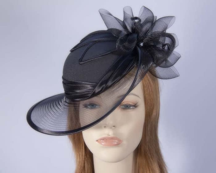Black Mother of the Bride hat Fascinators.com.au
