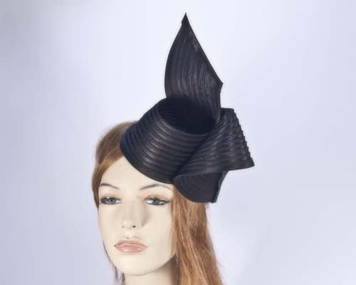 Black fascinator MA614B Fascinators.com.au