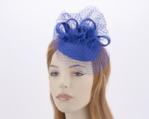 Royal blue cocktail hat 4786RB Fascinators.com.au