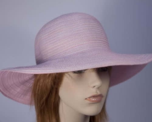 Pink sun beach hat SP273 Fascinators.com.au