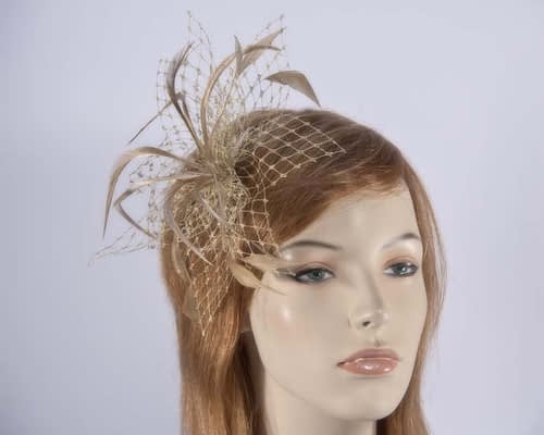 Gold Fascinator 4825G Fascinators.com.au