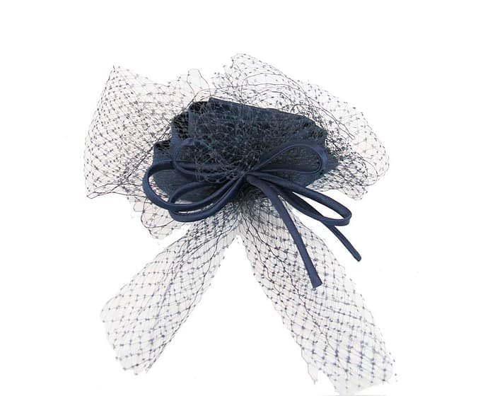 Navy cocktail hats K4801N Fascinators.com.au