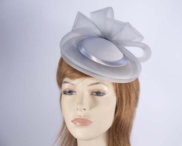 Silver cocktail hats K4691S Fascinators.com.au