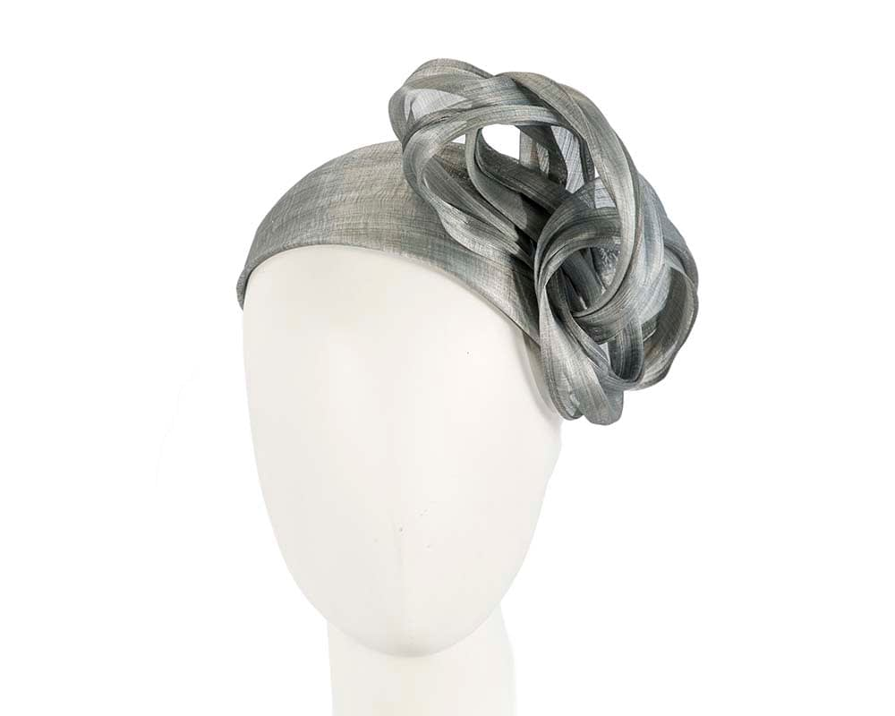 Silver retro headband racing fascinator by Fillies Collection Fascinators.com.au