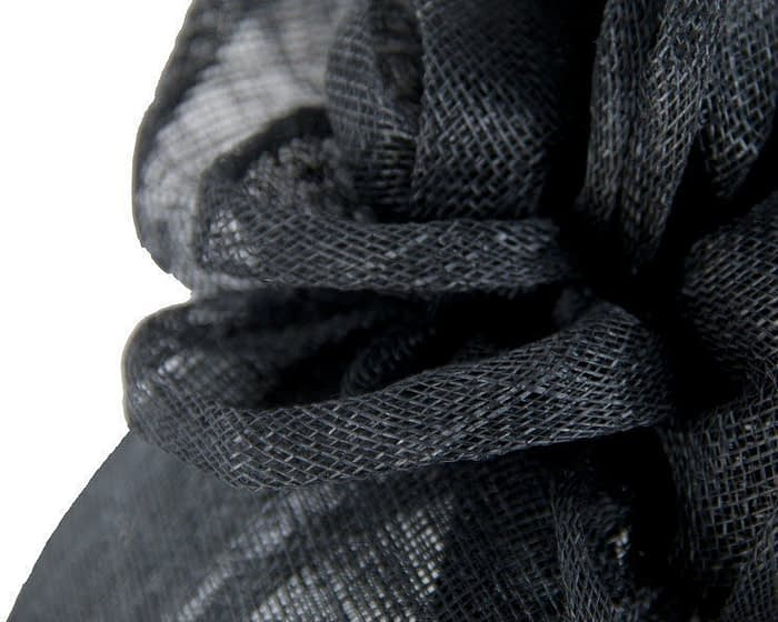 Small black pillbox Fascinators.com.au