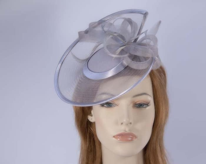 Grey cocktail hat K4806GR Fascinators.com.au