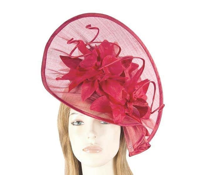 Red fashion hat S970R Fascinators.com.au