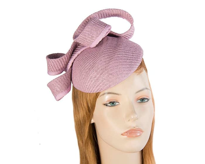 Lilac pillbox fascinator by Max Alexander Fascinators.com.au