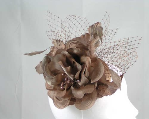 Bronze fascinators K4810BR Fascinators.com.au
