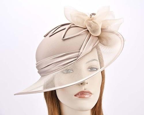 Natural Mother of the Bride hat Fascinators.com.au