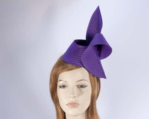 Purple fascinator MA614P Fascinators.com.au