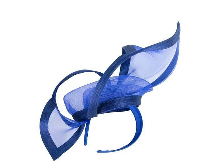 Royal blue fascinator S107RB Fascinators.com.au