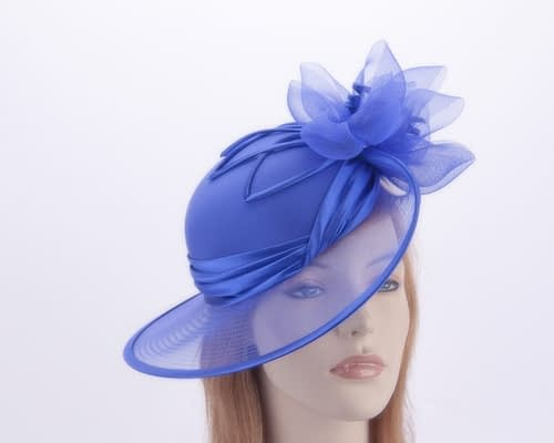 Royal blue Mother of the Bride hat Fascinators.com.au