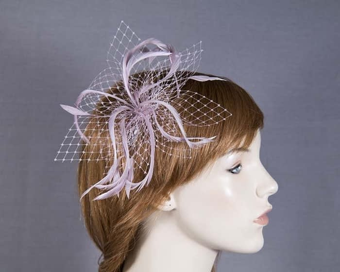 Dusty Pink comb fascinators Fascinators.com.au
