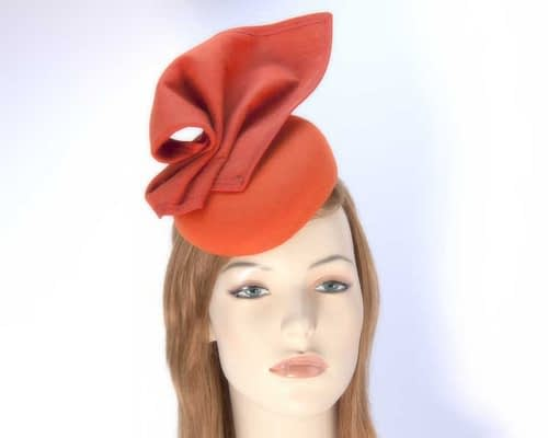 Orange fascinator F540O Fascinators.com.au