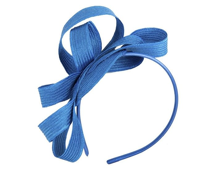 Royal blue loops racing fascinator Fascinators.com.au