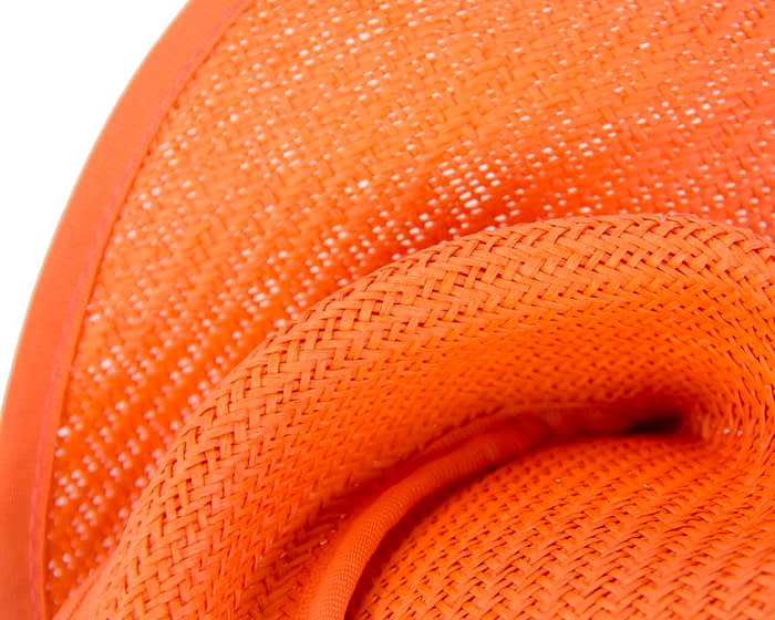 Orange fascinator MA564O Fascinators.com.au