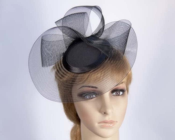 Black Cocktail Hat Fascinators.com.au