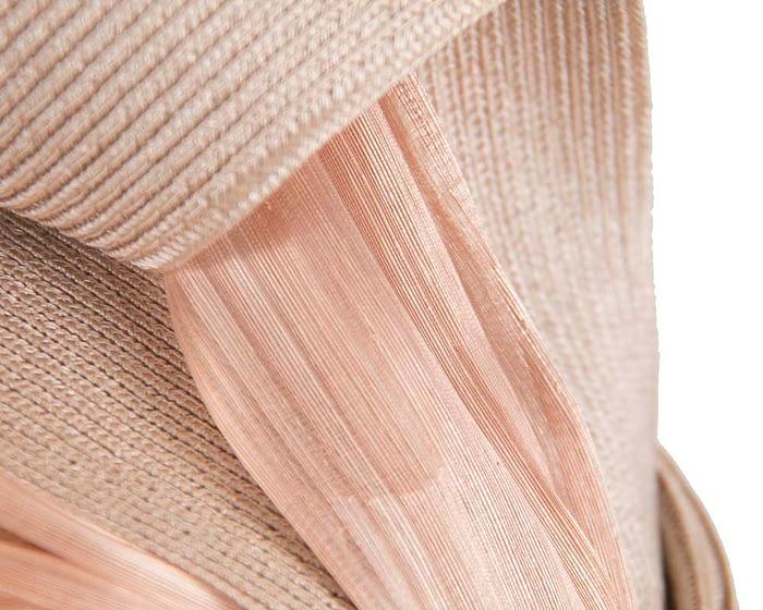 Nude twists Fillies Collection fascinator Fascinators.com.au