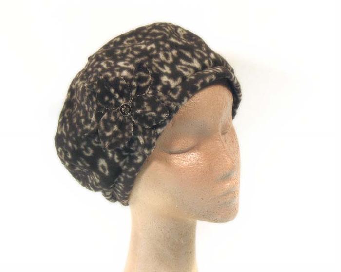 Black beret J269B Fascinators.com.au