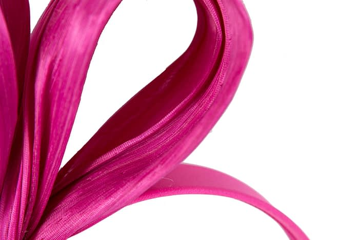 Large fuchsia bow racing fascinator by Fillies Collection Fascinators.com.au