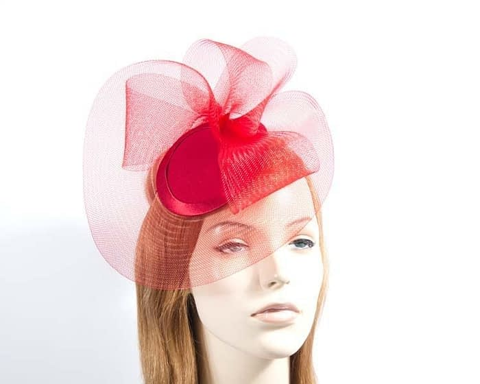 Red Cocktail Hat Fascinators.com.au