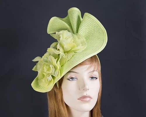 Lime Fillies Collection fascinator Fascinators.com.au