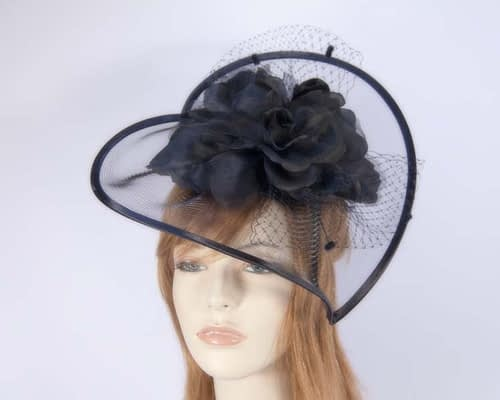 Black Fascinator K5007B Fascinators.com.au