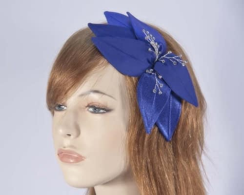Blue fascinators 4768DBL Fascinators.com.au