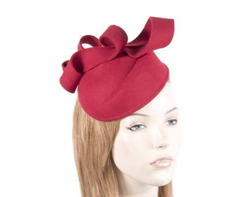 Red felt pllbox Max Alexander J294R Fascinators.com.au