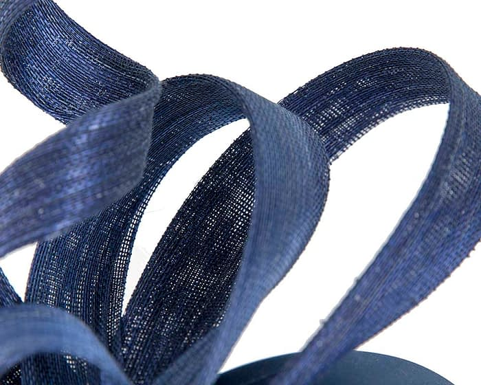 Australian made royal blue Fillies Collection racing fascinator for Melbourne Cup Fascinators.com.au