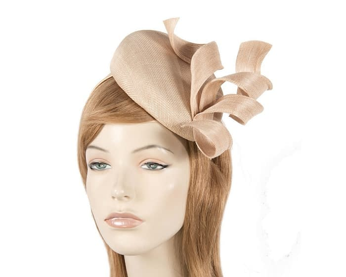 Amazing nude pillbox fascinator Fascinators.com.au