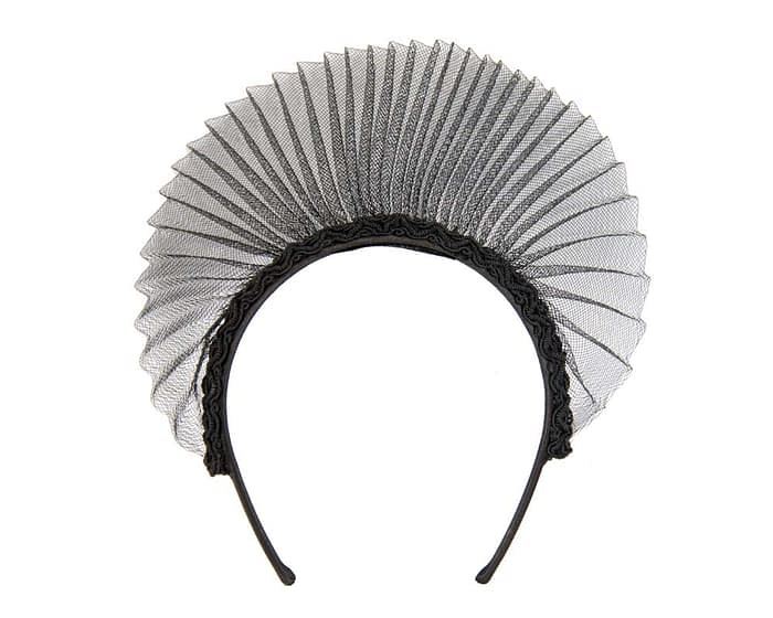 Black crown fascinator Fascinators.com.au