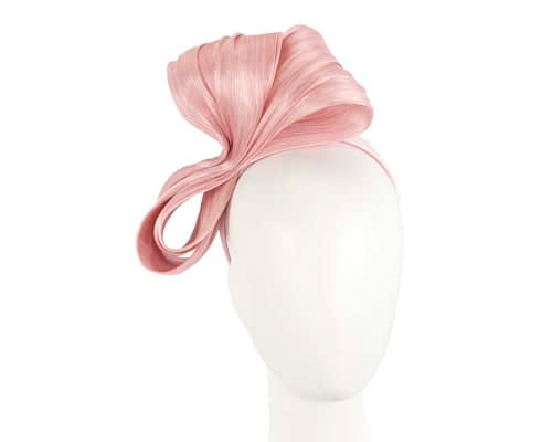 Large blush bow racing fascinator by Fillies Collection Fascinators.com.au