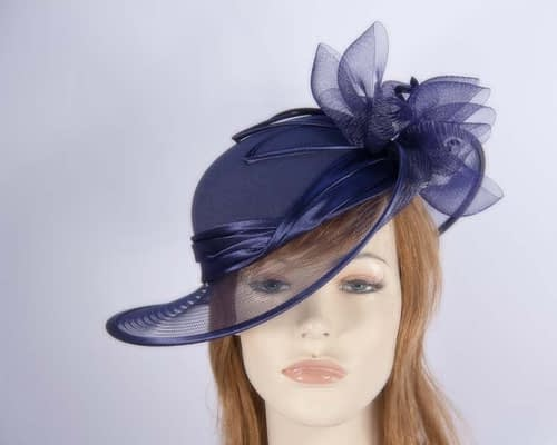 Navy Mother of the Bride hat Fascinators.com.au