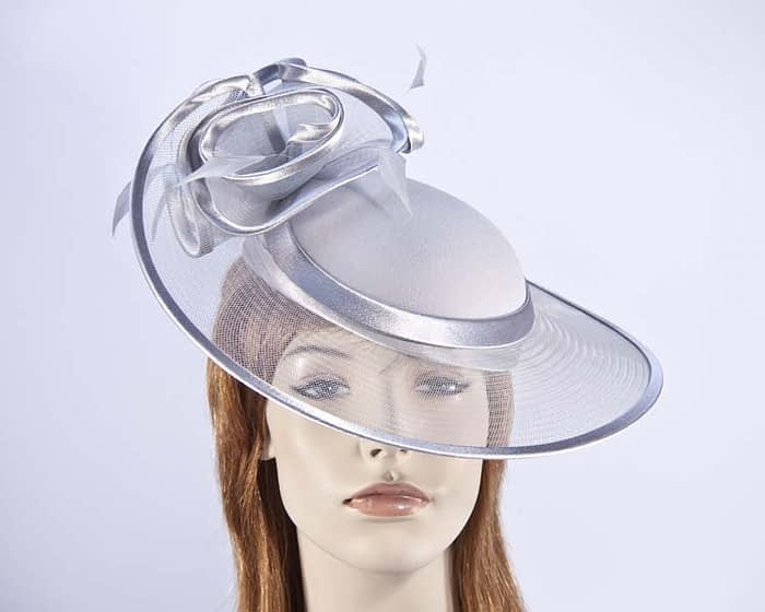 Silver hats H923S Fascinators.com.au