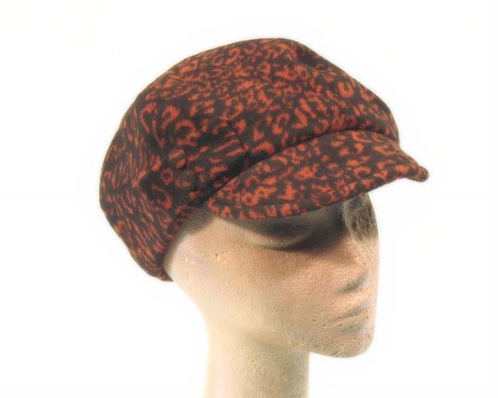 Rust beret hat J268R Fascinators.com.au