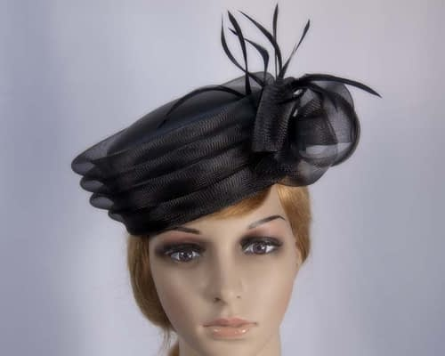 Black fashion hats H892B Fascinators.com.au