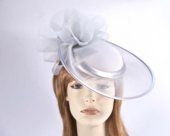 Silver mother of the bride hats H5008S Fascinators.com.au