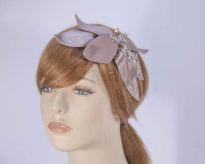 Taupe fascinators 4768DT Fascinators.com.au