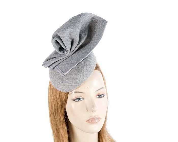 Grey fascinator F540G Fascinators.com.au