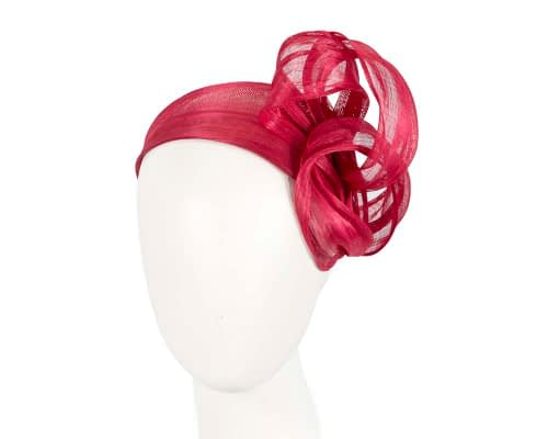 Red retro headband racing fascinator by Fillies Collection Fascinators.com.au