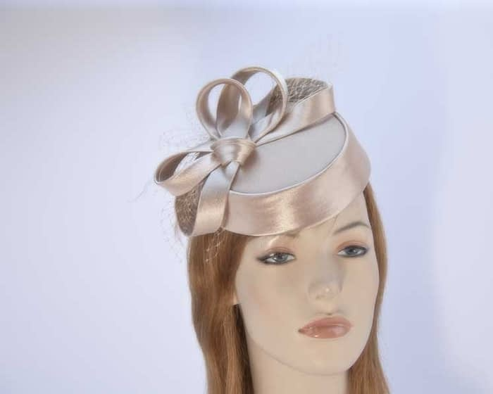 Cashew pillbox hat for special occasion buy online in Australia Fascinators.com.au