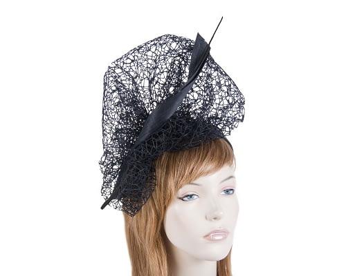 Bespoke black lace fascinator Fascinators.com.au